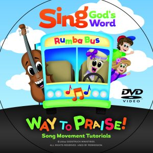 DVD, Sing God\'s Word - Way to Praise! Song Movement Tutorials Video