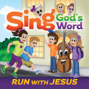 Scripture CD #3, Sing God\'s Word - Run with Jesus